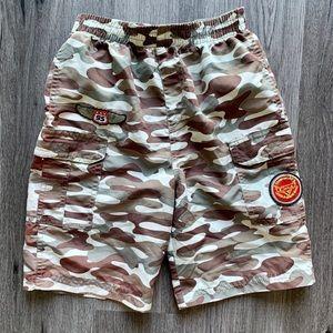 4T Cars camouflage swim trunks